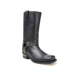 Compra en Noel Western Boots estas Botas Sendra Biker para hombre de cuero negro con arnés modelo 1918 con envíos gratis a la península 7906