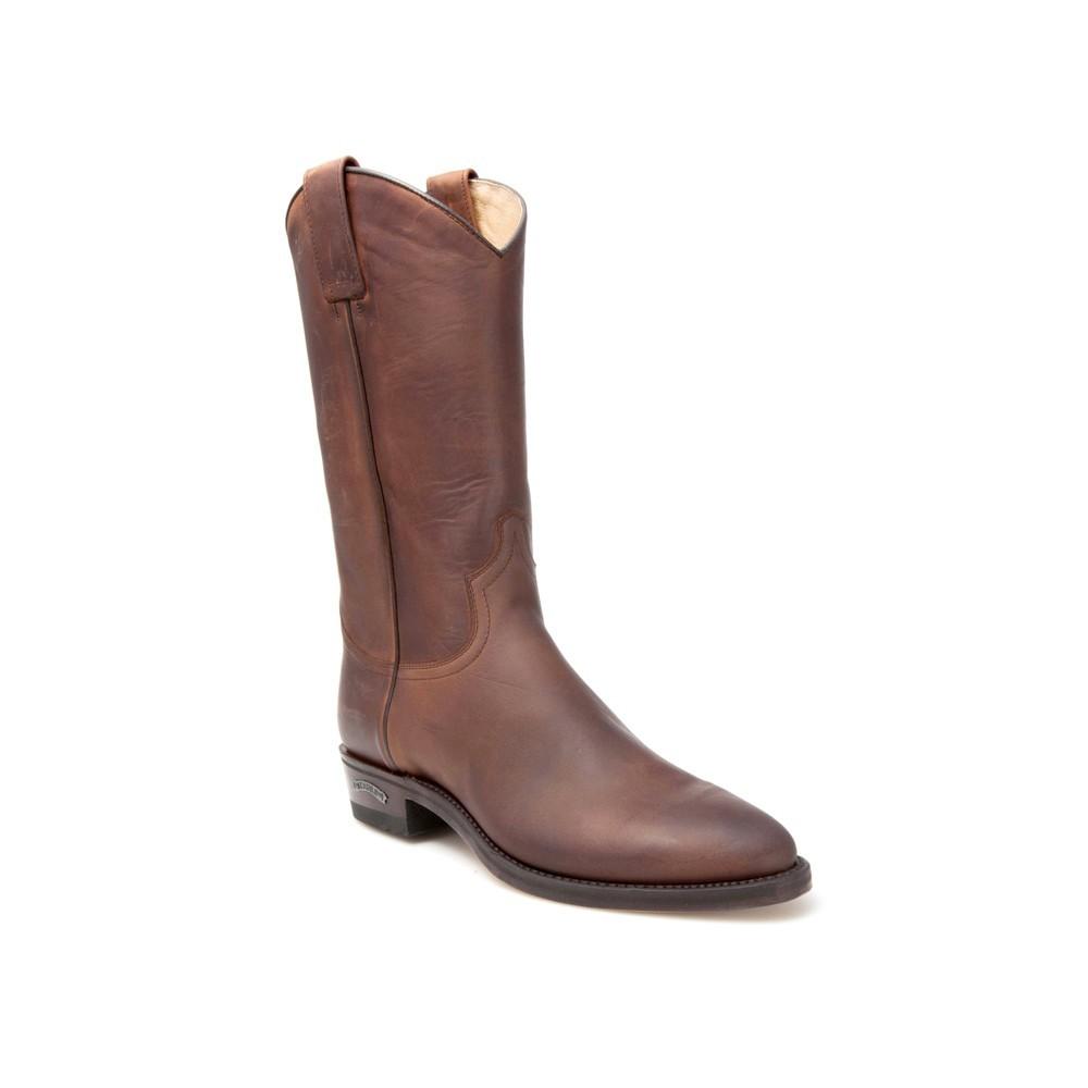Compra en Noel Western Boots estas Botas Sendra Western para hombre en cuero marrón del modelo 2966, envíos gratis a península 799 -