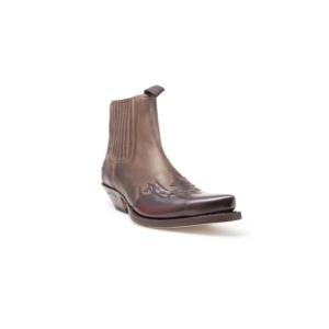 Compra en Noel Western Boots estos Botines Sendra Western para hombre de cuero marrón con elásticos modelo 5433 con envíos gratis a la península 8011