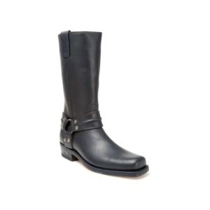 Compra en Noel Western Boots estas Botas Sendra moteras para hombre de cuero negro con arnes modelo 2380 con envíos gratis a península 809