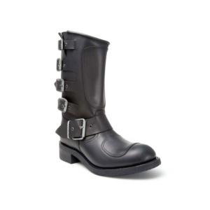 Compra en Noel Western Boots estas botas Sendra Biker para hombre de Cuero negro con hebillas del modelo 3790 con envíos gratis a la península 818