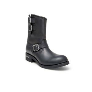 Compra en Noel Western Boots estas Botas Sendra Biker para hombre de Cuero negro con hebillas del modelo 4455 con envíos gratis a la península 819