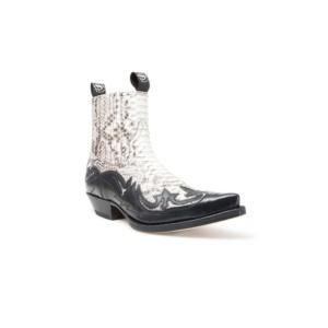 Compra en Noel Western Boots estos Botines Sendra Western para hombre de piel de serpiente? crema modelo 4660 con envíos gratis a la península 9737