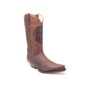 Compra en Noel Western Boots estas Botas Sendra Western para hombre de cuero marrón modelo 2600 con envíos gratis a la península 9852