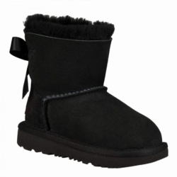 BOTAS UGG MINI BAILEY BOW II BLACK
