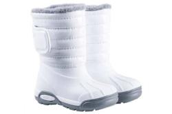 Botas Igor topo ski charol blanco rellenas de borreguito w10168-001