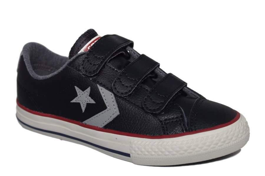 ZAPATILLAS CONVERSE JUNIOR STAR PLAYER EV 3V OX BLACK
