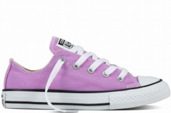ZAPATILLAS CONVERSE YOUTH CHUCK TAYLOR ALL STAR OX FRESH COLORS LILA GLOW SP17