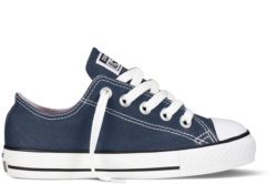 ZAPATILLAS CONVERSE YOUTH CHUCK TAYLOR ALL STAR OX CLASSIC COLORS NAVY-AZUL SP18 - Ítem