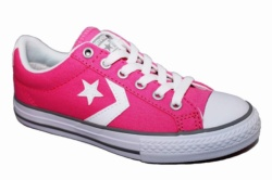ZAPATILLAS CONVERSE JUNIOR STAR PLAYER OX CHUCK PINK-ROSA SP17