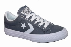 ZAPATILLAS CONVERSE JUNIOR STAR PLAYER EV OX GREY-GRIS SP17