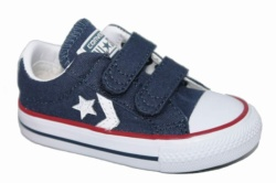 ZAPATILLAS CONVERSE INFANT STAR PLAYER 2V OX NAVY-AZUL SP18 - Ítem