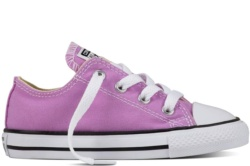 ZAPATILLAS CONVERSE INFANT CHUCK TAYLOR ALL STAR OX FRESH COLORS LILA GLOW SP17
