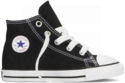 ZAPATILLAS CONVERSE INFANT CHUCK TAYLOR ALL STAR HI CLASSIC COLORS BLACK SP17