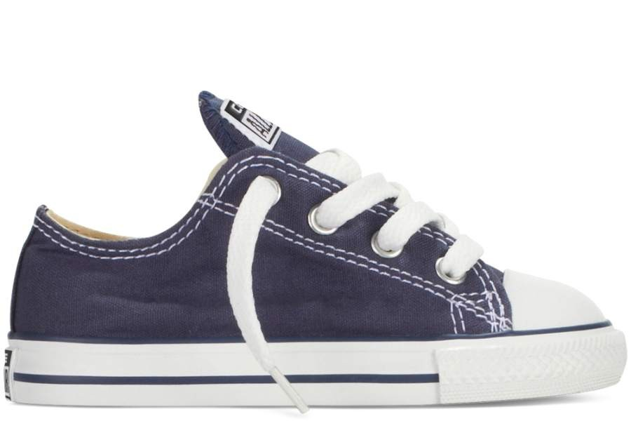 ZAPATILLAS CONVERSE INFANT CHUCK TAYLOR ALL STAR OX CLASSIC COLORS NAVY-AZUL SP18