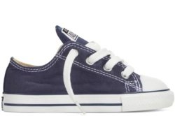 ZAPATILLAS CONVERSE INFANT CHUCK TAYLOR ALL STAR OX CLASSIC COLORS NAVY-AZUL SP18 - Ítem