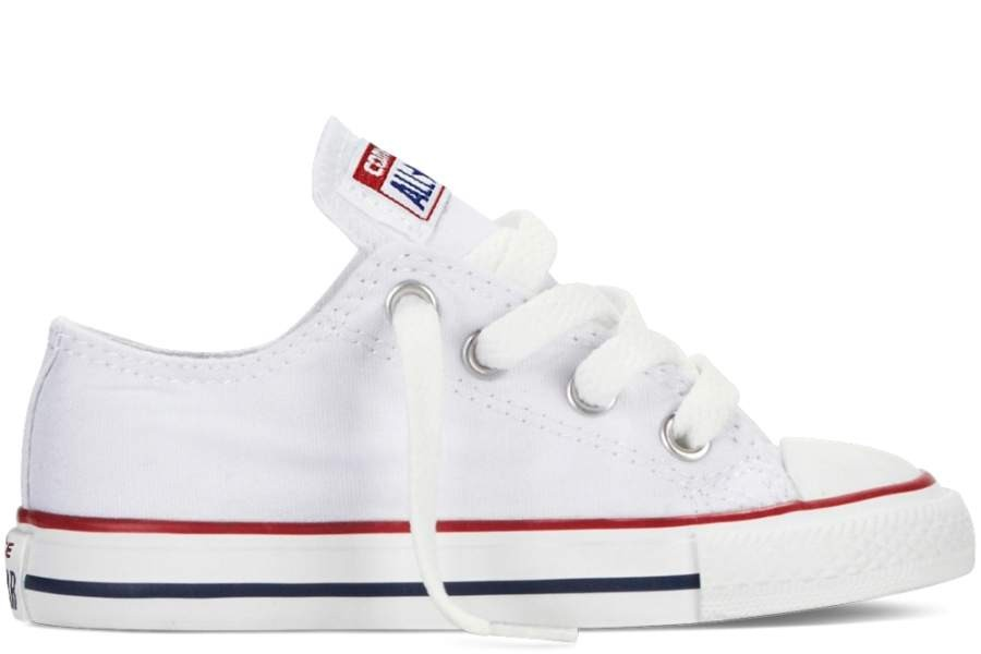 93041c156aad SABATILLES CONVERSE INFANT CHUCK TAYLOR ALL STAR OX CLASSIC COLORS OPTICAL  WHITE-BLANCA SP19
