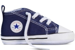 ZAPATILLAS CONVERSE FIRST STAR HI NAVY CRB AZUL SP17 - Ítem