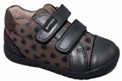 Sneakers garvalin niña humo y gris marengo 181317-a - Mysweetstep