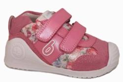 Zapatillas biomecanics rosa flores 192142-C | Mysweetstep