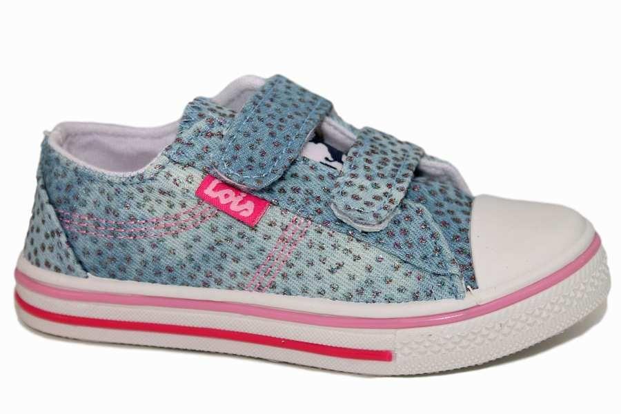 Zapatillas lois azul y rosa 60024C066 | Mysweetstep