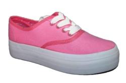 zapatillas-plataforma-beppi-lona-rosa-2149670 - Ítem