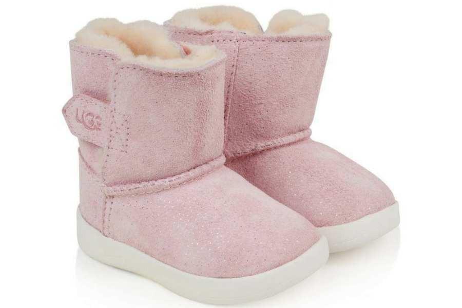 botas ugg keelan sparkle baby pink 1094494t - Mysweetstep