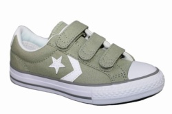 ZAPATILLAS CONVERSE YOUTH STAR PLAYER 3V OX DRIED SAGE-VERDE SP17