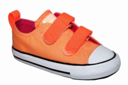 ZAPATILLAS CONVERSE INFANT CHUCK TAYLOR ALL STAR 2V OX SUNSET GLOW - NARANJA/CORAL SP17