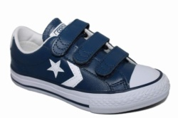 ZAPATILLAS CONVERSE JUNIOR STAR PLAYER 3V OX NAVY/WHITE