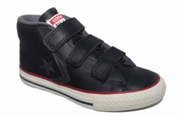 ZAPATILLAS CONVERSE JUNIOR STAR PLAYER EV 3V MID BLACK/THUNDER/STORM WIND