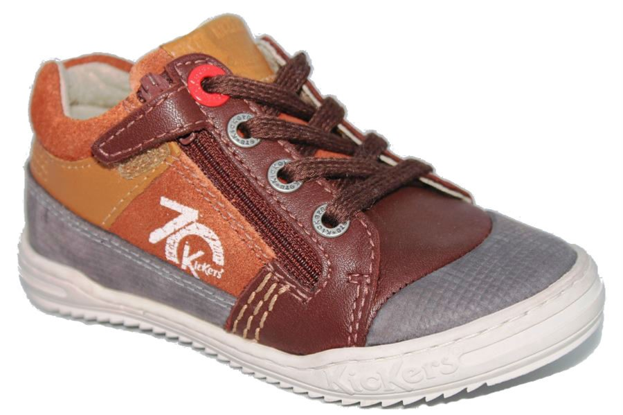 ZAPATILLAS KICKERS JINJANG MARRON