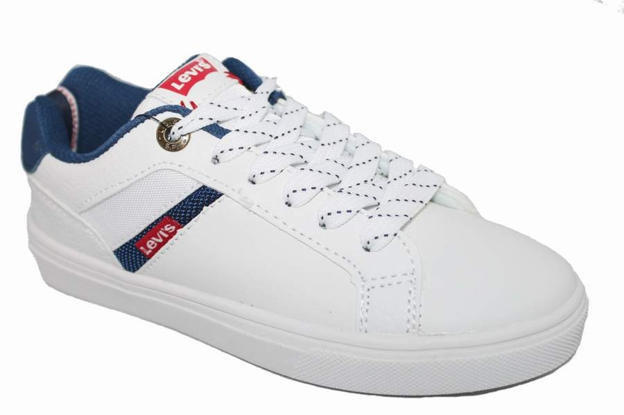 ZAPATILLAS LEVIS LOS ANGELES BLANCO
