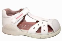sandalias biomecanics de piel blanco 192162-B | Mysweetstep