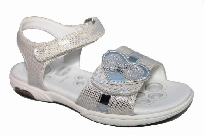 Zapatos plateado Chicco infantiles lkwFEoG