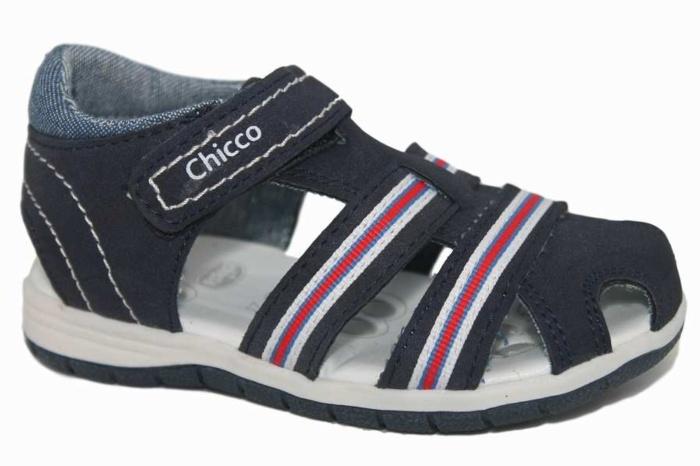 Chicco Sandalias Rojo Napa Fang 5ral4jc3q Azul Blanco lFKJTc1
