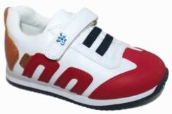 sneakers garvalin niño blanco rojo 2018 - Mysweetstep