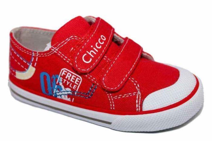 700 Zapatillas Chicco Lona Rojo Goren 59447 m8wvn0N