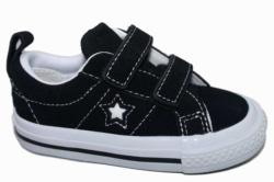 zapatillas converse black - white / blanco - negro 758491C - Mysweetstep