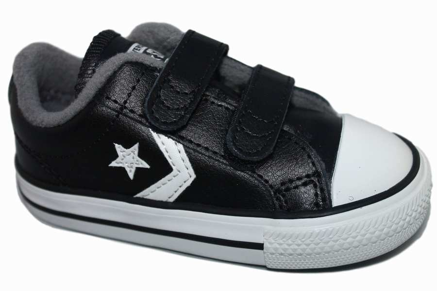 zapatillas converse black - white / blanco - negro Vintage 762015C - Mysweetstep