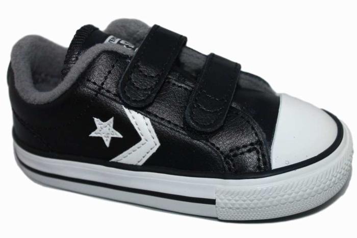 Zapatillas Black Converse 2v White Player Vintage Ox Star wXnOPk80