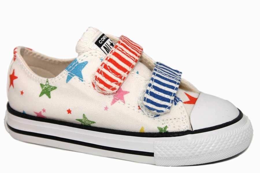 zapatillas converse blanco estrellas 763775C | Mysweetstep