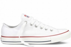 ZAPATILLAS CONVERSE UNISEX WOMENS MENS ALL STAR OX CLASSIC COLORS OPTICAL WHITE BLANCA SP19