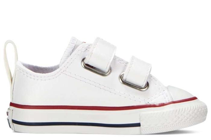 Desde allí Incitar Privilegiado  zapatillas converse de piel blanco con velcro 748653C | Mysweetstep