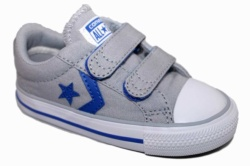 ZAPATILLAS CONVERSE INFANT STAR PLAYER 2V OX WOLF GREY/GRIS SP18 - Ítem