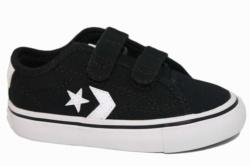 zapatillas converse lona negro y blanco 763562C | Mysweetstep