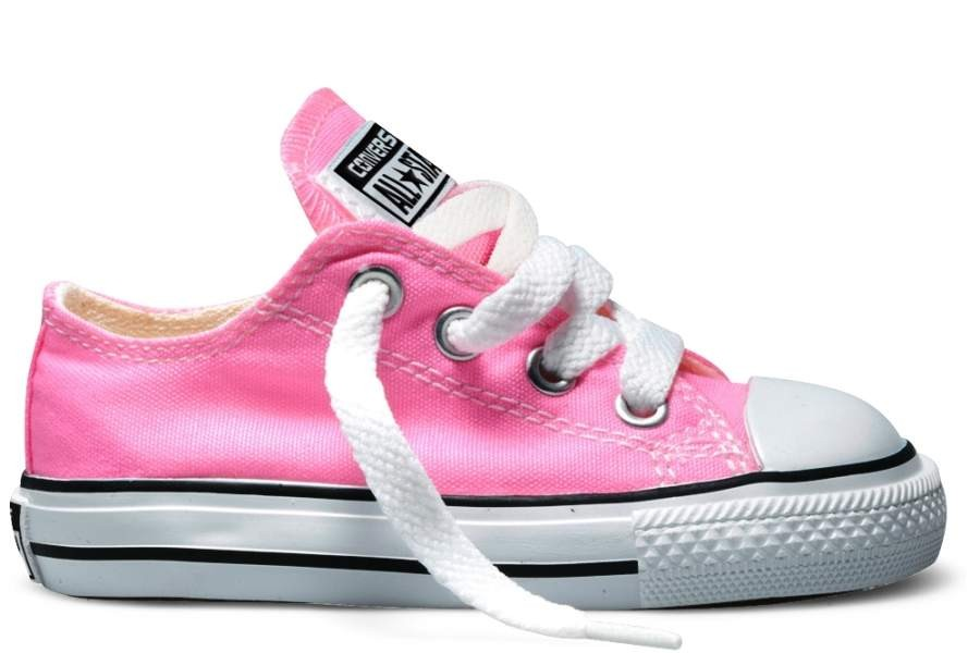 ZAPATILLAS CONVERSE INFANT CHUCK TAYLOR ALL STAR OX CLASSIC COLORS PINK-ROSA SP18