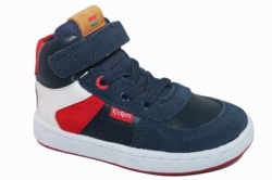 zapatillas kickers azul marino bilbon 664560-10 - Mysweetstep
