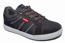 ZAPATILLAS LEVIS CLUB LOW LACE CH GREY NAVY