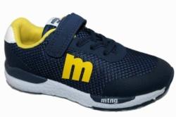 zapatillas mustang azul navy y amarillo 47598 - Mysweetstep - Ítem